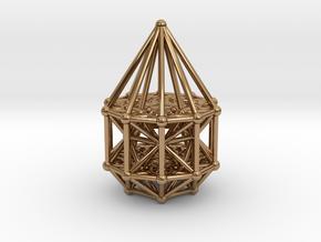 Penteract Matrix Stargate in Polished Brass
