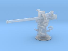 1/240 USN 3 inch 50 cal USN Deck Gun in Smooth Fine Detail Plastic