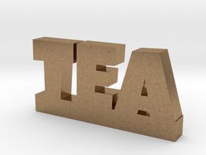 TEA Lucky in Natural Brass