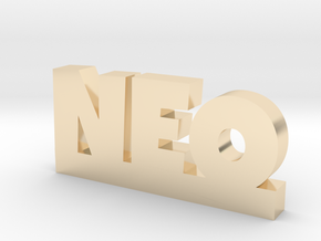 NEO Lucky in 14k Gold Plated Brass