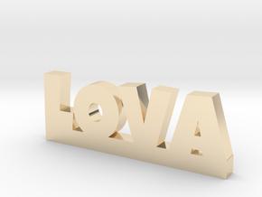 LOVA Lucky in 14k Gold Plated Brass