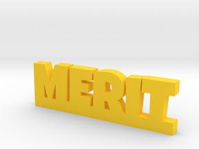 MERIT Lucky in Yellow Processed Versatile Plastic