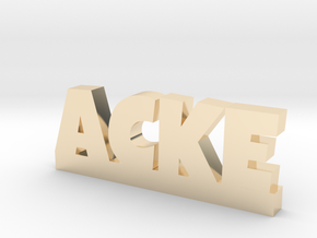 ACKE Lucky in 14k Gold Plated Brass