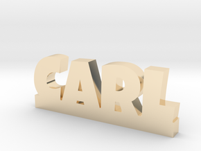 CARL Lucky in 14k Gold Plated Brass