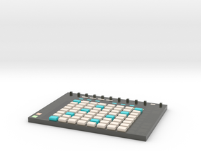 Ableton Push 2 -- Melody View -- Voxel Miniature in Glossy Full Color Sandstone