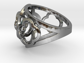 4-leaf Alhambra Ring in Polished Silver
