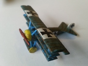 1/144 Fokker Dr.1 in White Natural Versatile Plastic