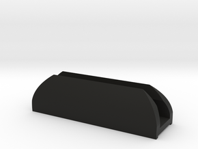 Groovy Sunshade Clip - Type B in Black Natural Versatile Plastic