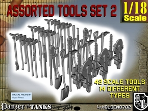 1-18 Assorted Tools Set2 in Smooth Fine Detail Plastic
