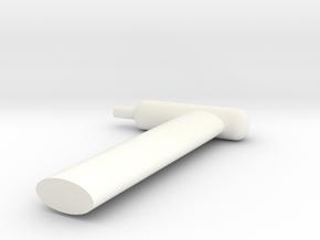 Baumann Puma Pitot Tube in White Processed Versatile Plastic