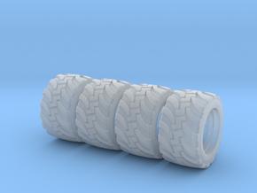 H0 1:87 Geländereifen für Herpa LKW Hinterradfelge in Frosted Ultra Detail