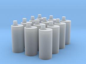 BACK FUTURE 1/8 EAGLEMOS PLUTONIUM BOX BOTTLES in Smooth Fine Detail Plastic