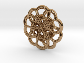 The Flower in Polished Brass