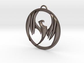 Storm Hawks  in Polished Bronzed Silver Steel