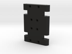 X3M SCX10 SCX10 Transmission Skid V1 in Black Natural Versatile Plastic