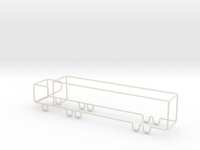 Transporter Big scale 1-500 in White Acrylic: 1:500