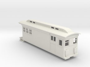 On30 Doodlebug/Railmotor Lindsay2 in White Natural Versatile Plastic