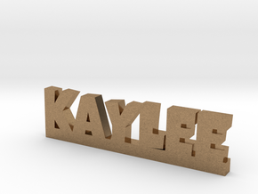 KAYLEE Lucky in Natural Brass