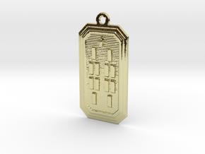 BABA ODI MEYI in 18k Gold Plated Brass