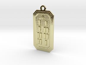 ODIROSO in 18k Gold Plated Brass