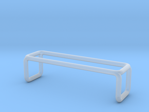 Bench 3 scale 1-100 in Smooth Fine Detail Plastic: 1:100