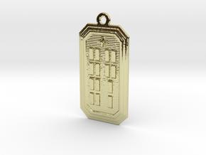 OJUANIYEKUN in 18k Gold Plated Brass