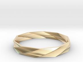 Bracelet TW in 14k Gold Plated Brass
