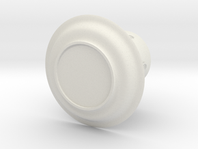 Moneycup in White Natural Versatile Plastic