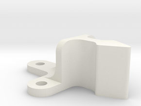 Roller Grab Latch Pt3 in White Natural Versatile Plastic