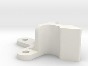 Roller Grab Latch Pt3 in White Natural Versatile Plastic