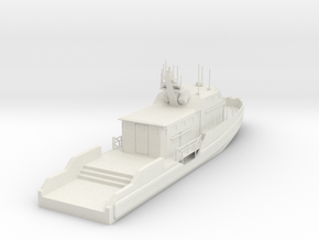 Coastal Command Boat CCB 1-87 in White Natural Versatile Plastic