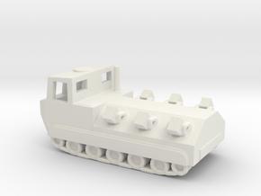 1/200 Scale M548 Mine Layer in White Natural Versatile Plastic