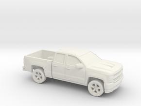 1/87 2016/17 Chevrolet Silverado EXT Cab Short Bed in White Strong & Flexible