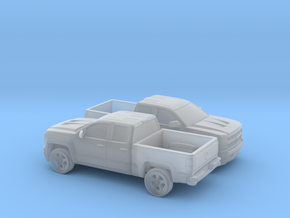 1/160 2X  2016/17 Chevrolet Silverado EXT Cab Shor in Frosted Ultra Detail