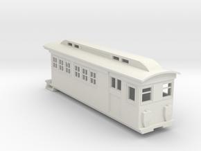 On30 Doodlebug/Railmotor Lindsay3 in White Natural Versatile Plastic