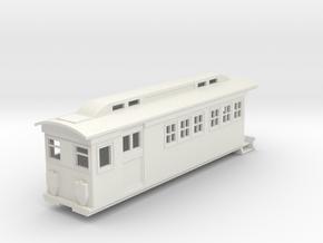 On30 Doodlebug/Railmotor Lindsay3a in White Natural Versatile Plastic