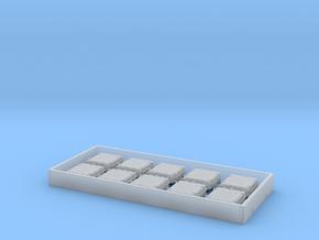 1/96 IJN Deck Hatch in Smooth Fine Detail Plastic