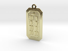 OGUNDAKA in 18k Gold Plated Brass