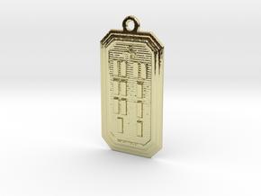 OSAKANA in 18k Gold Plated Brass