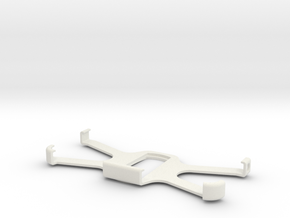Iphone 6 mount horizontal (with case) maps and mor in White Natural Versatile Plastic