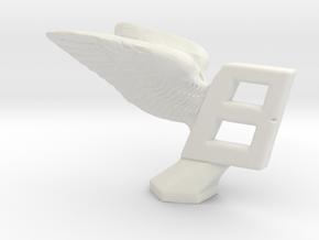 Hood Ornament for Bentley in White Natural Versatile Plastic