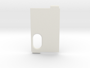 NMods alfa door logoless in White Natural Versatile Plastic