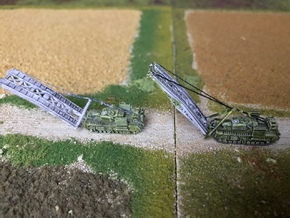 Churchill SBG Bridgelayer 1/285 6mm in Frosted Ultra Detail