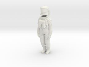 SF Astronaut Storage in White Natural Versatile Plastic: 1:24