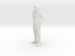 Printle C Homme 026 - 1/43 - wob in White Natural Versatile Plastic
