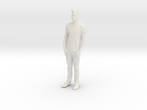 Printle C Homme 031 - 1/43 - wob in White Natural Versatile Plastic