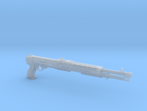 SPAS 12 1:4 scale shotgun without pump in Smooth Fine Detail Plastic