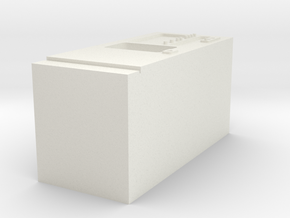 Coffee vending machine / Kaffeeautomat in White Natural Versatile Plastic: 1:120 - TT
