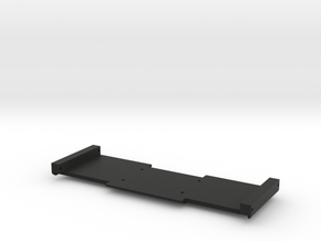 Adafruit IMU Board Holder - Full Cutout in Black Natural Versatile Plastic