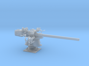 1/32 UBoot 8.8 cm SK C/35 Naval Deck Gun in Smooth Fine Detail Plastic